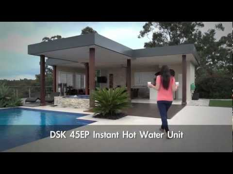 Gleamous Instant Hot Water Unit - DSK 45EP