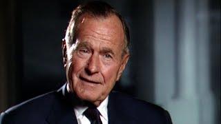 George H. Bush über seine Zeit mit Helmut Kohl
