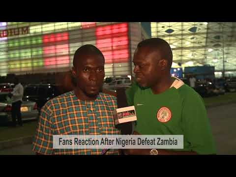 VIDEO: Fans React After Nigeria Beat Zambia To 2018 World Cup Ticket (Prt 2)