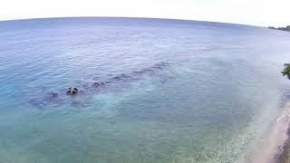#MJX #DRONE FOOTAGE #MJX BUGS 12 EIS Pantai mamuju - tapandullu - drone footage terbaik