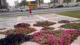 preview picture of video 'AL - KHOBAR   MAIN SIGNAL PARK   SAUDI ARAB'