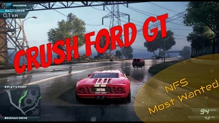 Need for Speed™ Most Wanted разбиваем Corvette ZR1 и Ford GT за одну гонку
