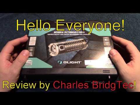 Olight SRMINI Intiminator II flashlight review!
