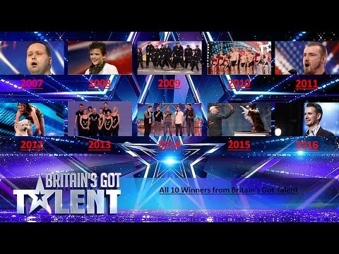 All 10 winners from Britain's Got Talent (видео)