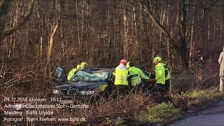 09.12.2018 – Voldsom ulykke – Charlottenlund