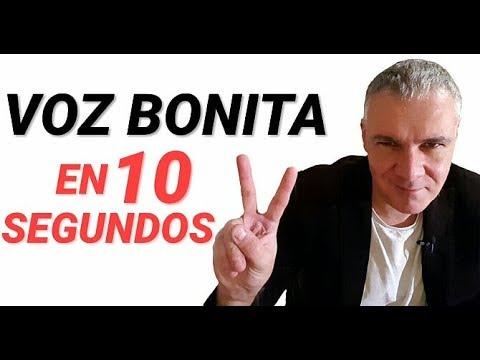 COMO TENER UNA VOZ BONITA, GRAVE, MENOS NASAL, SENSUAL Y SEDUCTORA EN 10 SEGUNDOS