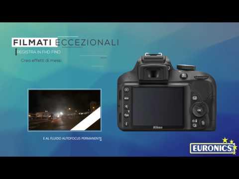 NIKONkit D3300 + AF-P 18-55 VR +55-200 VR II + SD 8GBBlack