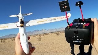 Eachine TX02 200mW FPV System with VR D2 Goggles Flight Test Review