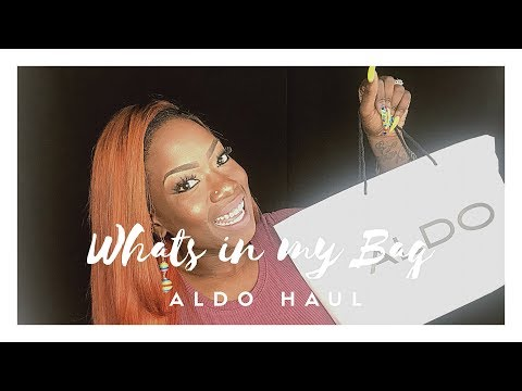 ALDO HANDBAG 2017 | BUDGET AND BOUJIE| ALDO HAUL