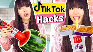 Wir testen Virale TIKTOK Life Hacks 😱 Schock!!   ViktoriaSarina