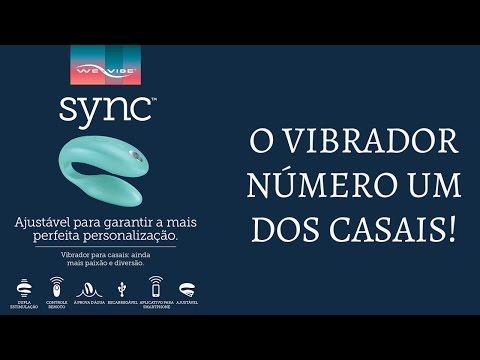 We-Vibe Sync Vibrador de Casal para Ponto G e Clitóris com App Celular