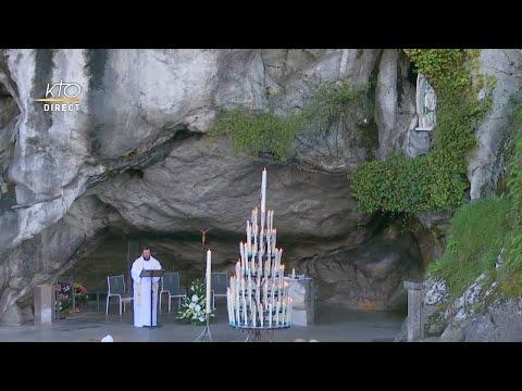 Chapelet du 31 octobre 2020 à Lourdes