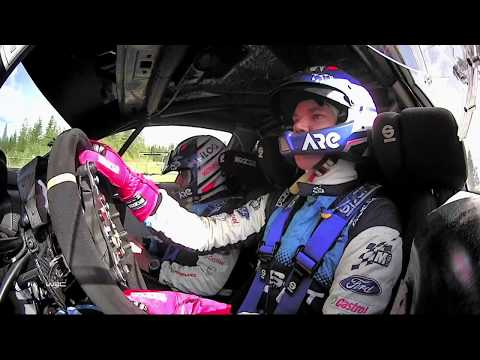 WRC - Neste Rally Finland 2019: Ford M-Sport Onboard compilation
