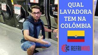Quais modelos de lavadoras tem na Colômbia