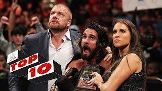 Top 10 Raw Momente: WWE Top 10 – 14. September 2015