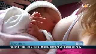 preview picture of video 'Valeria Rosa, la primera vallesana de 2015 és de Bigues i Riells'