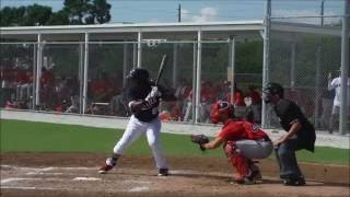 Minnesota Twins propsect Luis Arraez hitting in Instructional League 9/24/2016