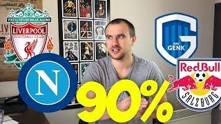 Ливерпуль Наполи Прогноз / Прогнозы на Спорт / Генк Зальцбург Прогноз