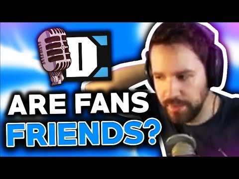 Should viewers be considered as friends?