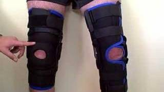 Video: DeRoyal Warrior Knee Brace