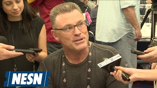 "Howie Long Says It's ""Surreal"" To See Son Chris In Super Bowl"