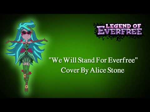 """MLP EG: Legend Of Everfree """"We Will Stand For Everfree"""" (Cover)"""