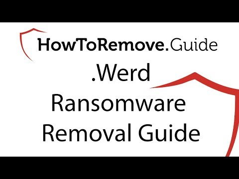 .Werd Virus File Ransomware Removal Guide