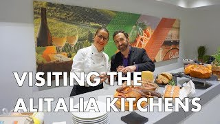 WHY ALITALIA HAS THE BEST AIRPLANE FOOD - A visit to their test kitchen