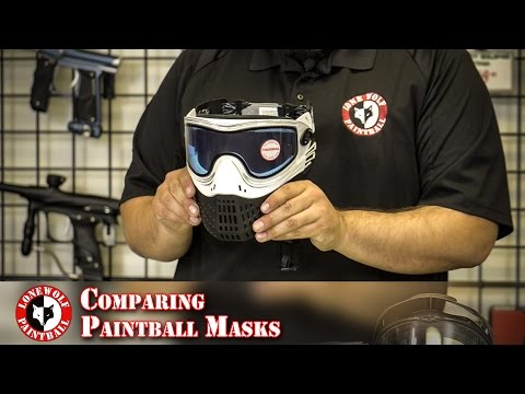 What is the Difference Between Paintball Masks Comparison Review Lone Wolf Paintball Michigan