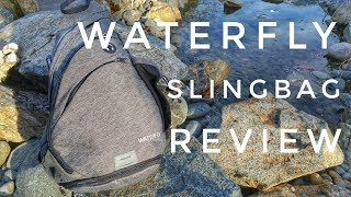 Wandering Blue Passports: Waterfly Slingbag Review