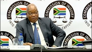 S.Africa's Zuma testifies at Commission of Inquiry into State Capture