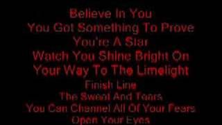 Chris Brown- Dreamer with lyrics on screen