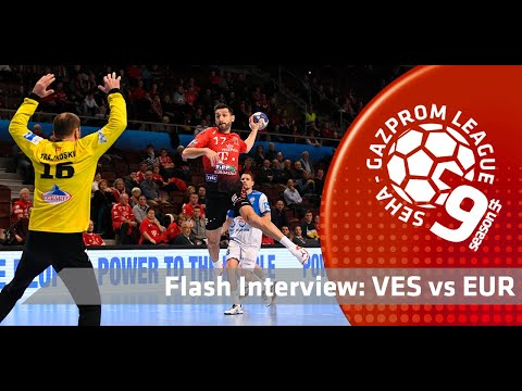 Flash interview: Telekom Veszprem vs Eurofarm Rabotnik