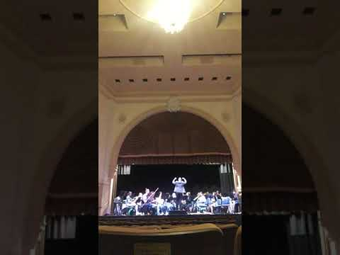 Weber Bassoon Concerto Performance with the University of San Diego Woodwind Ensemble 2nd Mvt