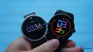 LG G Watch R vs Moto 360 | Pocketnow