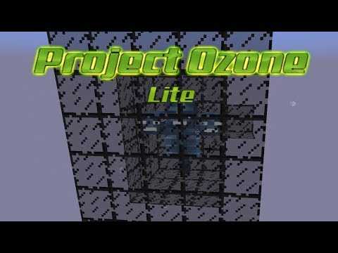 Minecraft Modded Tutorial :: Project Ozone Lite :: Auto