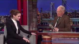 Emma Watson - Late Show with David Letterman (2014) HD