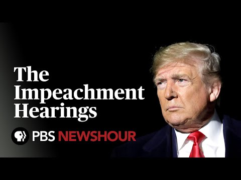 WATCH: The Trump Impeachment Hearings – Day 3 - Williams, Vindman, Volker and Morrison to testify
