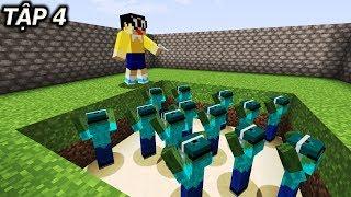 Minecraft Nobita Và Ngày Tận Thế Tập 4 - Căn Hầm Chứa Zombie Bí Ẩn