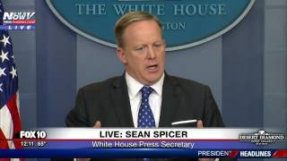 POSE A THREAT? First To Go: Sean Spicer Lays Out Illegal Immigration Plan