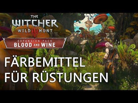 Witcher 3: Rüstungen färben Guide
