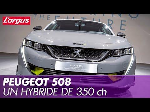 Aperçu d'une vidéo de l'article Concept 508 Peugeot Sport Engineered. Un hybride de 350 ch pour 2020