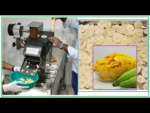 Banana Slicer Machine Chips Making Machine