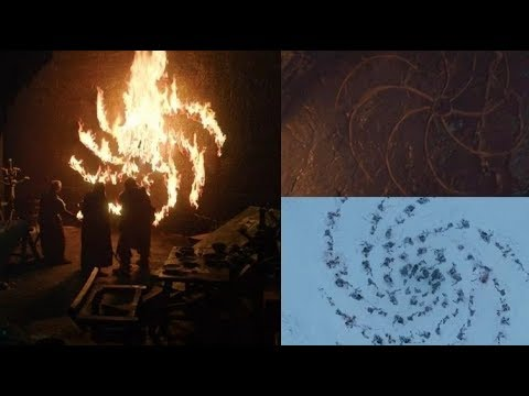 MESSAGE OF THE NIGHT KING (HD) - Game of Thrones S08E01