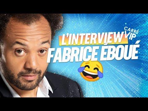 """Fabrice Eboué, l'interview """"Carré VIP"""" sur RTS"""