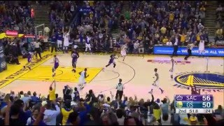 Stephen Curry 17 pts in 3 minutes 2015.12.28 vs Kings | Kholo.pk