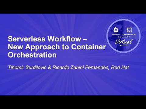 Image thumbnail for talk Serverless Workflow – New Approach to Container Orchestration