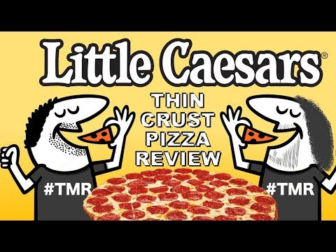 Little Caesars' Thin Crust Pepperoni Pizza Review – Ep. 875 #TMR