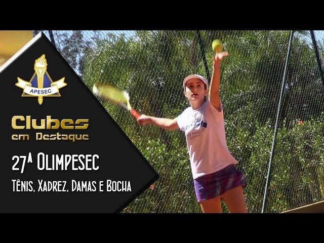 Clubes em Destaque 01/09/2015 – 27ª Olimpesec