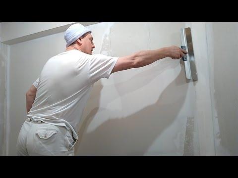 Шпатлевание стен из гипсокартона под обои при ремонте квартиры. Как снять обои с гипсокартона